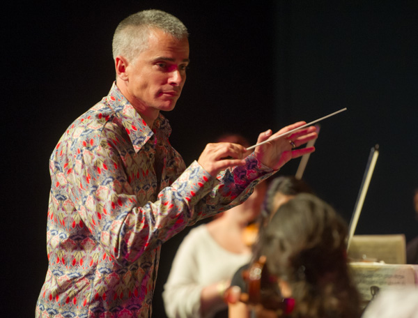 Joseph Allan, Conductor of the Manukau Youth Orchestra.